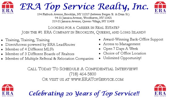 ERA Jobs Brooklyn New York
