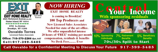 Exit Real Estate Jobs Brooklyn New York