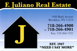 F Juliano Brooklyn NY Jobs