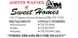 Sweet Homes Real Estate Queens Jobs Careers
